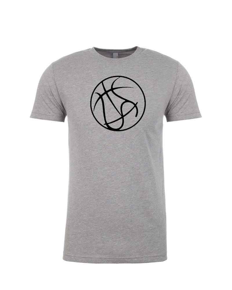 Basketball Money Ball - Premium Fitted Short-Sleeve Crew