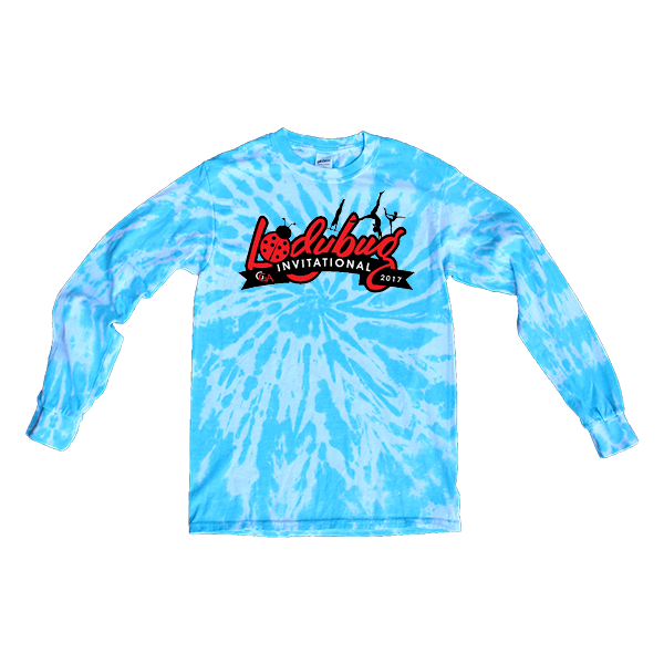 Blue Tie-Dye Long-Sleeve Lady Bug Invitational