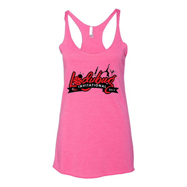 Hot Pink Ladies Tank Lady Bug Invitational