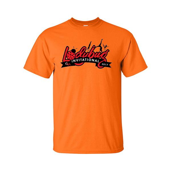 Neon Orange T-Shirt Lady Bug Invitational