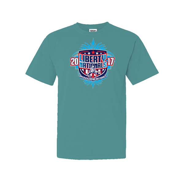 Comfort Colors Seafoam T-Shirt Liberty Nationals