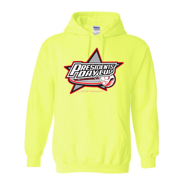 Neon Green Hoodie President's Day Cup