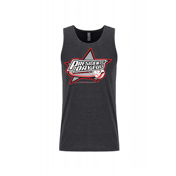 Premium Charcoal Mens Tank President's Day Cup
