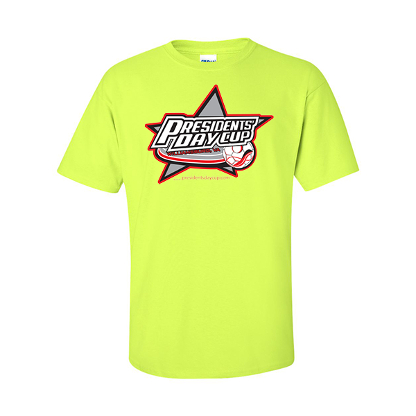 Neon Green T-Shirt President's Day Cup
