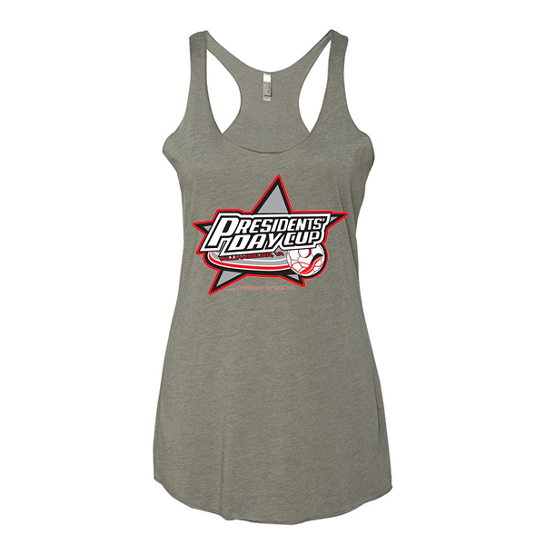 Premium Warm Grey Ladies Tank President's Day Cup