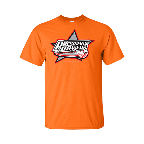 Neon Orange T-Shirt President's Day Cup