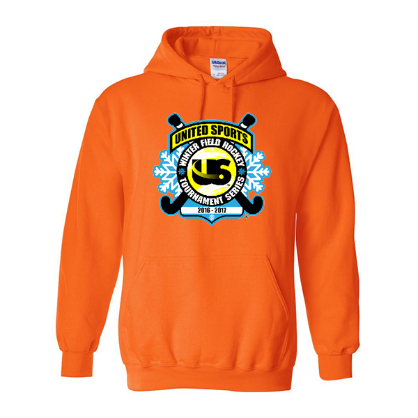 Neon Orange Hoodie United Sports Field Hockey