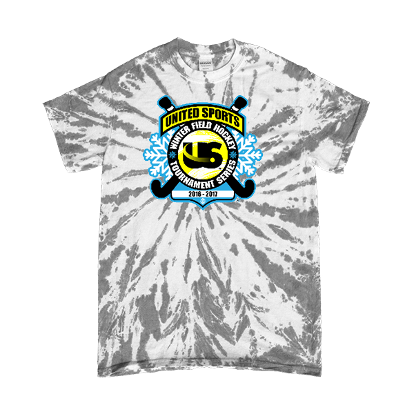Grey Tie-Dye T-Shirt United Sports Field Hockey