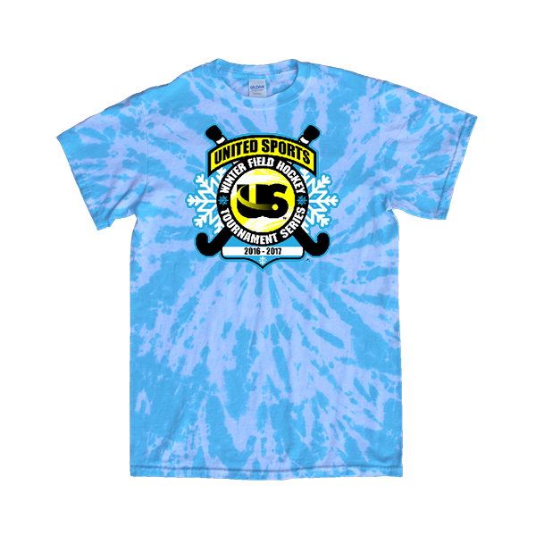 Blue Tie-Dye T-Shirt United Sports Field Hockey