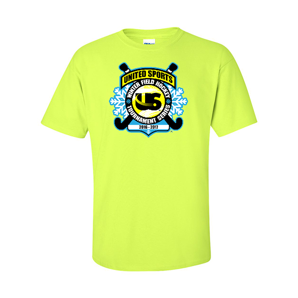 Neon Green T-Shirt United Sports Field Hockey