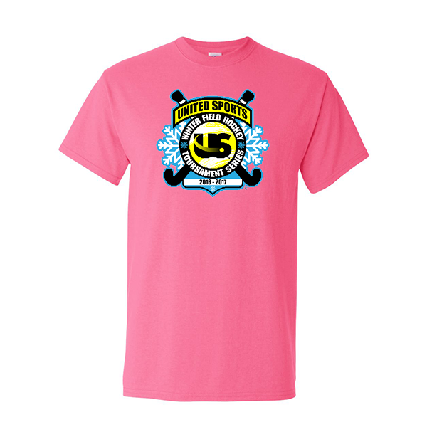 Neon Pink T-Shirt United Sports Field Hockey