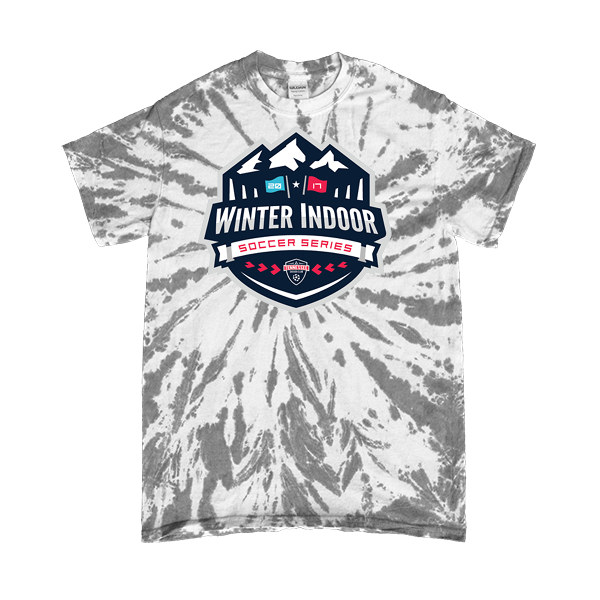 Grey Tie-Dye T-Shirt Winter Indoor Tennessee Soccer Club
