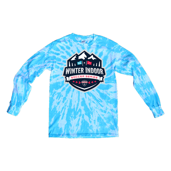 Blue Tie-Dye Long-Sleeve Winter Indoor Tennessee Soccer Club