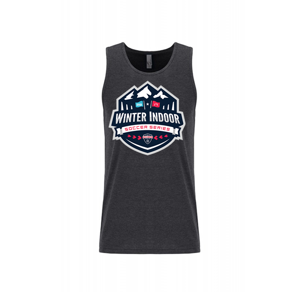 Premium Charcoal Mens Tank Winter Indoor Tennessee Soccer Club
