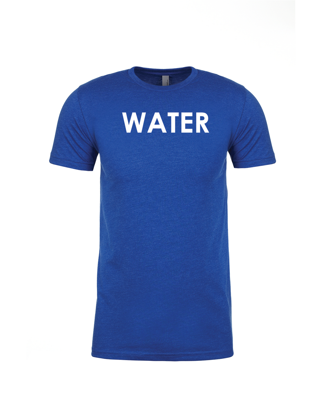 WATER - Premium Fitted Short-Sleeve Crew