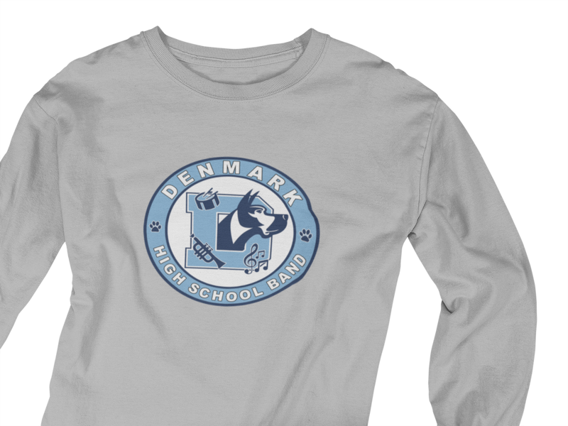 Long Sleeve Denmark High School Band