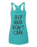 Jeep Hair Don't Care Tank Tops