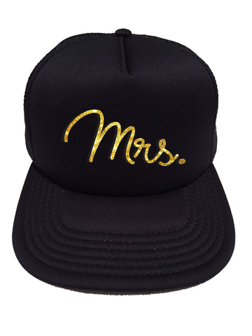 Mrs. Hat, Glitter Trucker Cap