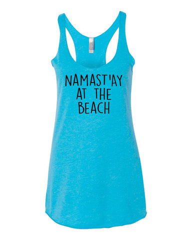 Namast'ay at the Beach Yoga Tank Top