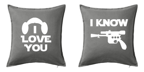 I Love You, I Know Decorative Pillows