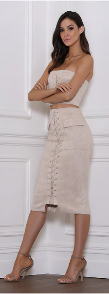 Break Up Midi Skirt | B x Runaway