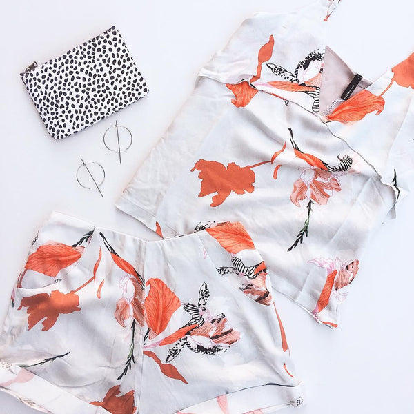 Iris Floral Shorts | Staple