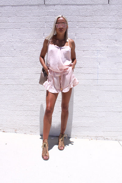 Lenny Shorts Pink | Finders Keepers