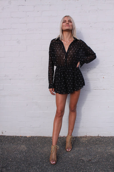 Midnight Memories Playsuit | The Fifth