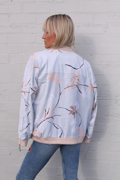 Tea Garden Bomber | Staple the Label