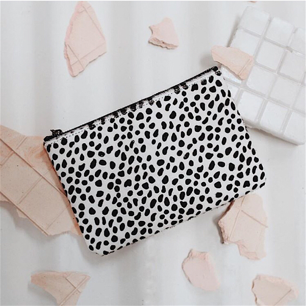 Maud Wallet Snow Cheetah | Status Anxiety