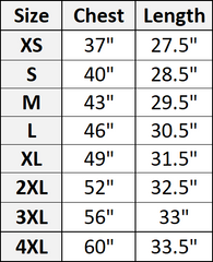 nomad complex size chart