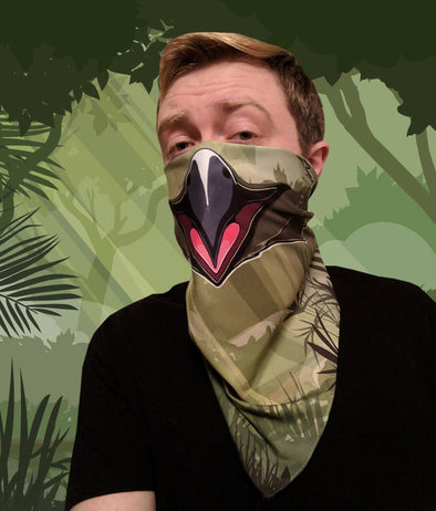 nomad complex avian bird jungle bandanimal bandana animal face vancouver polyester colorful breathable apparel accessories