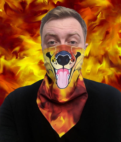Bandanimals™ - Canine (Fire Fox)