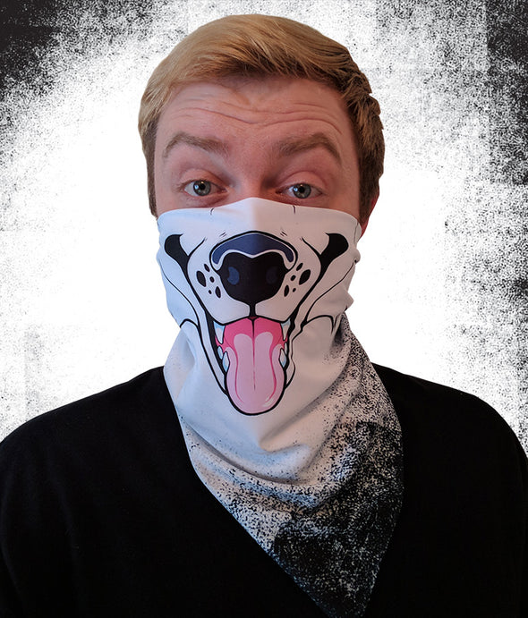 nomad complex canine white bandanimal bandana animal face vancouver polyester colorful breathable apparel accessories