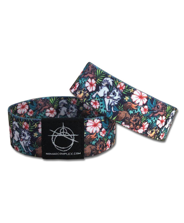 Canis Hibiscus - Wristband
