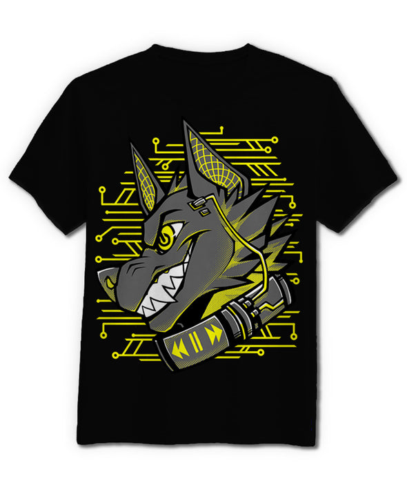 nomad complex cyberdog yellow tshirt cotton apparel crew cut vancouver