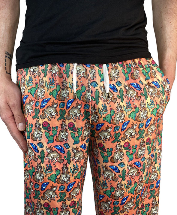 lounge pants coyote feather cactus nomad complex furry apparel fursona