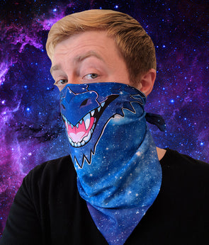 nomad complex dragon galaxy bandanimal bandana animal face vancouver polyester colorful breathable apparel accessories