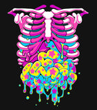 Candy Gore - T-Shirt (Pink/Yellow)