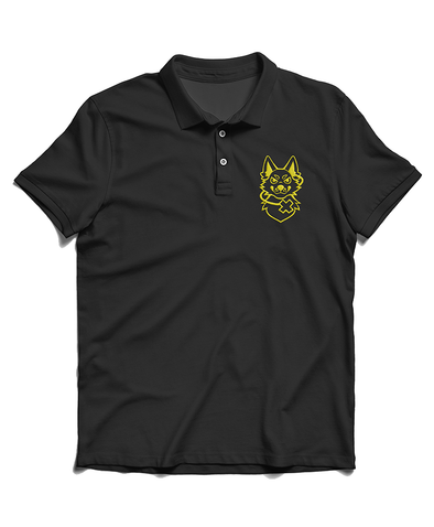nomad complex black polo ltyh listen to your heart furry apparel furry clothing embroidery