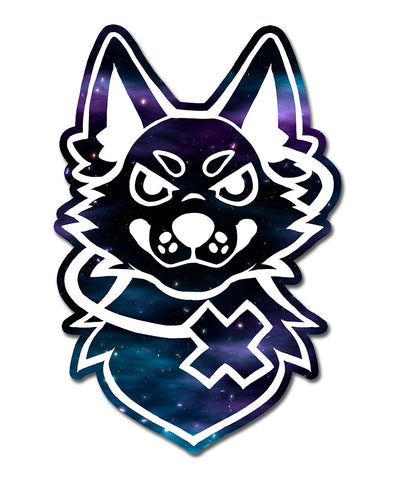 ltyh sticker nomad complex listen to your heart vinyl sticker furry apparel holographic