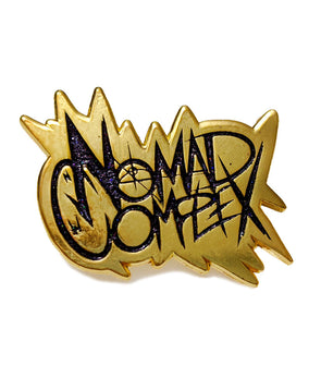 Nomad Complex - Gold Enamel Pin