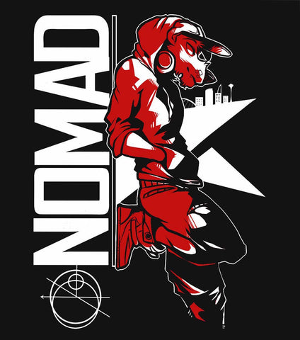 NOMAD - T-Shirt (Black) [FINAL STOCK!]