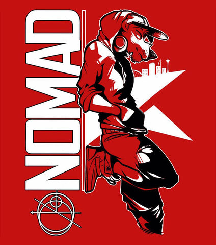 NOMAD - T-Shirt (Red)