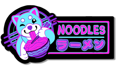 Noodles - Sticker
