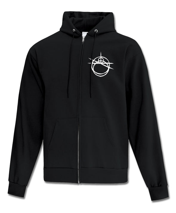 Psycho - Zip-Up Hoodie (Black)