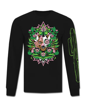 Peyote - Long Sleeve T-Shirt (Black)