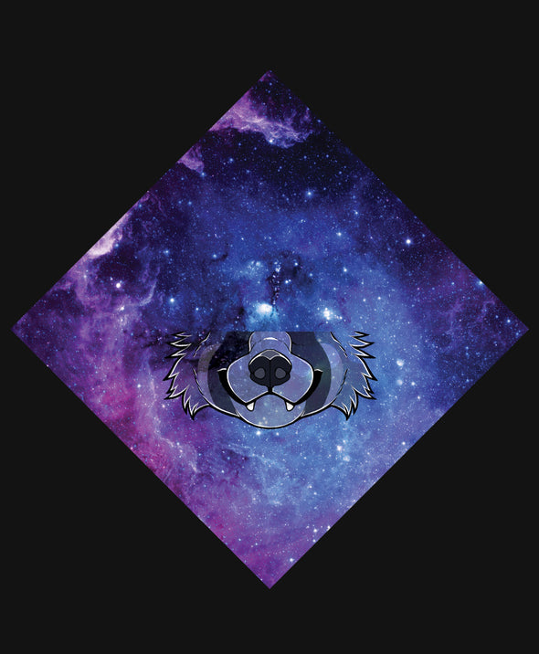 nomad complex red panda galaxy purple bandanimal bandana animal face vancouver polyester colorful breathable apparel accessories