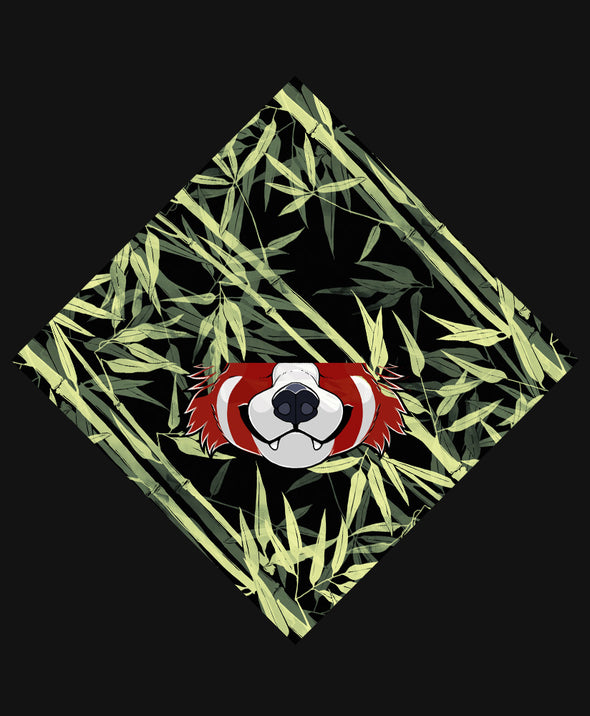 nomad complex red panda bamboo green bandanimal bandana animal face vancouver polyester colorful breathable apparel accessories