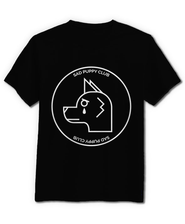 nomad complex sad puppy club tshirt cotton apparel crew cut vancouver morg peche